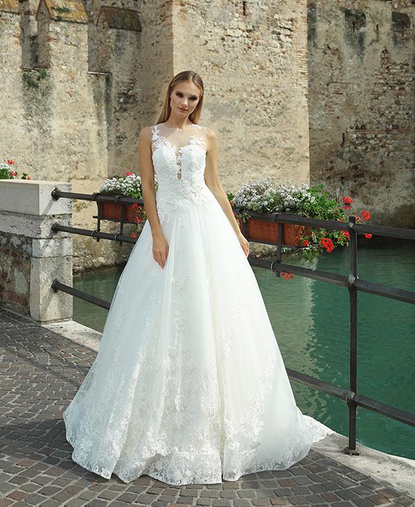 Rewelacyjny Suknie ślubne, koronkowe - salon - Gala Suknie Ślubne MK01